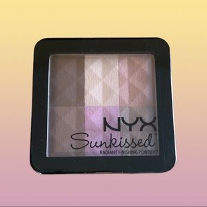 NYX Radiant Finishing Powder Sunkissed RFP02 6-pan